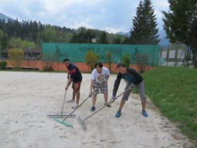 Beachvolleyballplatz Kochel